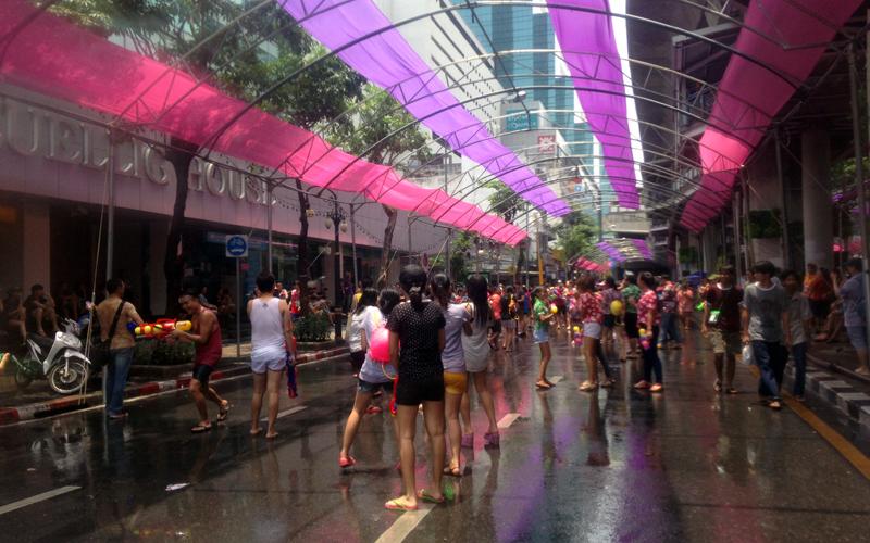 Songkran Festival in Bangkok-2