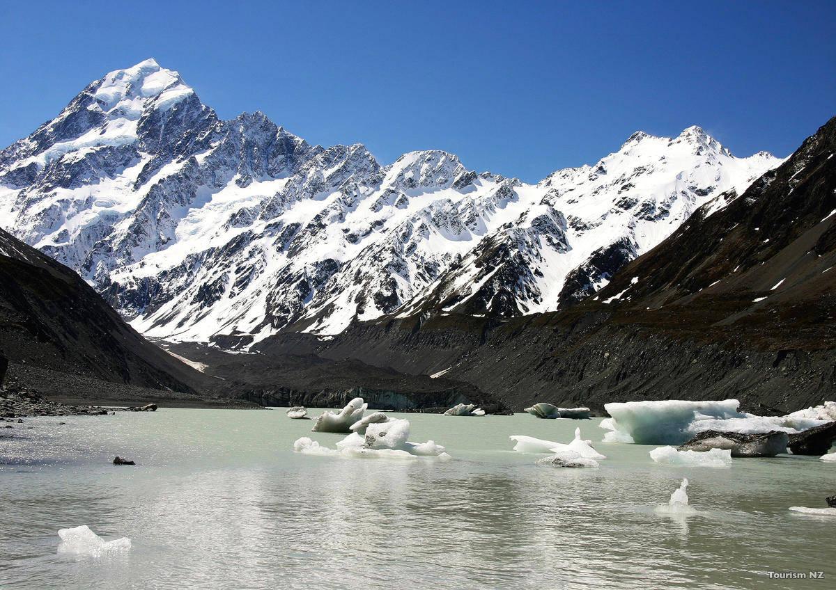 NZ-hooker-glacier-lake-mt-cook
