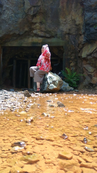 Tempat Terbaru dan Tersembunyi di Belitung - Open Pit Kelapa Kampit