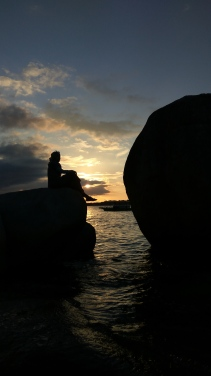 Pantai Tanjung Kelayang Sunset