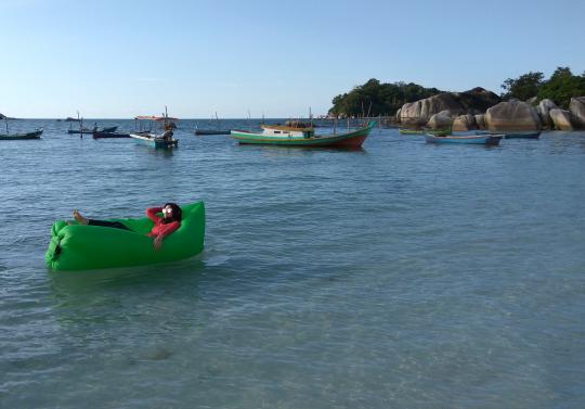 Tempat Terbaru dan Tersembunyi di Belitung - Pantai Kelayang
