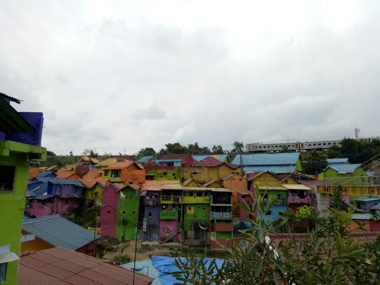 Kampung Warna Warni Jodipan Malang